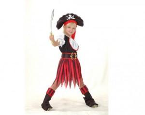 карнавальные костюмы для детей пиратка