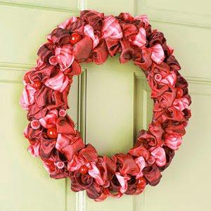 новогодний венок +на двери