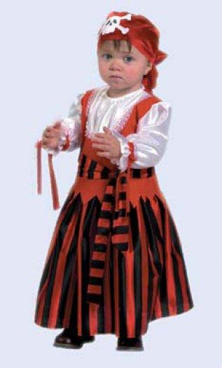 костюма пирата для девочки