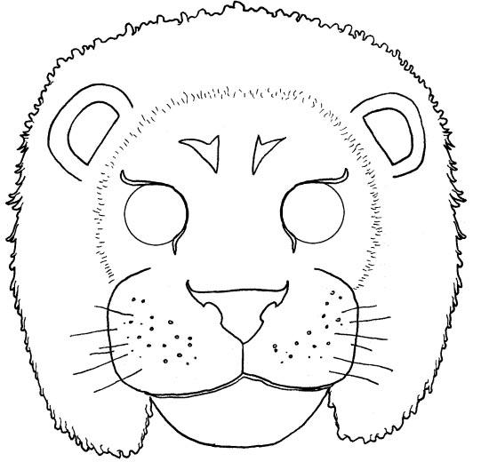 Как сделать маску льва своими руками