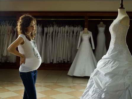 фото свадебные платья для беременных