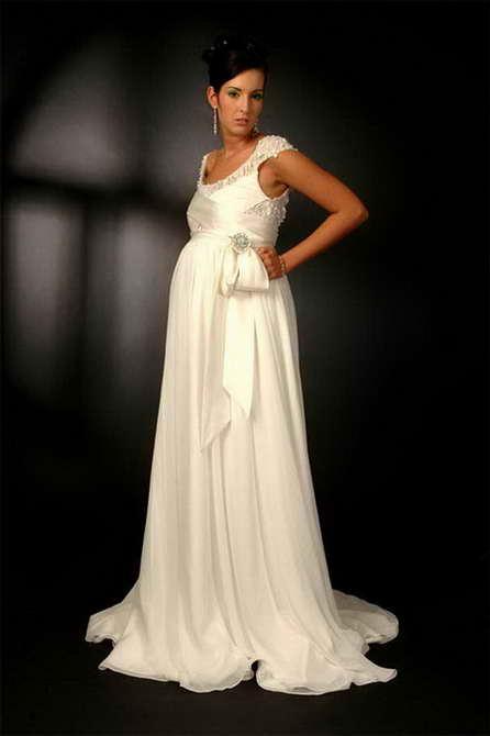 свадебные платья для беременных невест фото