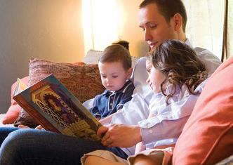 знакомство ребенка с книгой