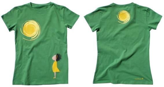 Достаточно создать свою футболку, нанеся на нее изображение...